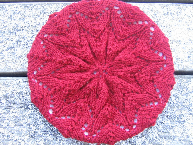 Spring Beret Knitting Pattern : 18 best images about Circular knitting on Pinterest ...