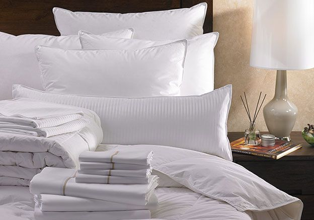 Indulge in a Westin Heavenly Bed & Bedding Set for deep, revitalizing sleep. Complete with our Egyptian cotton sheets, down blanket, pillows and duvet.