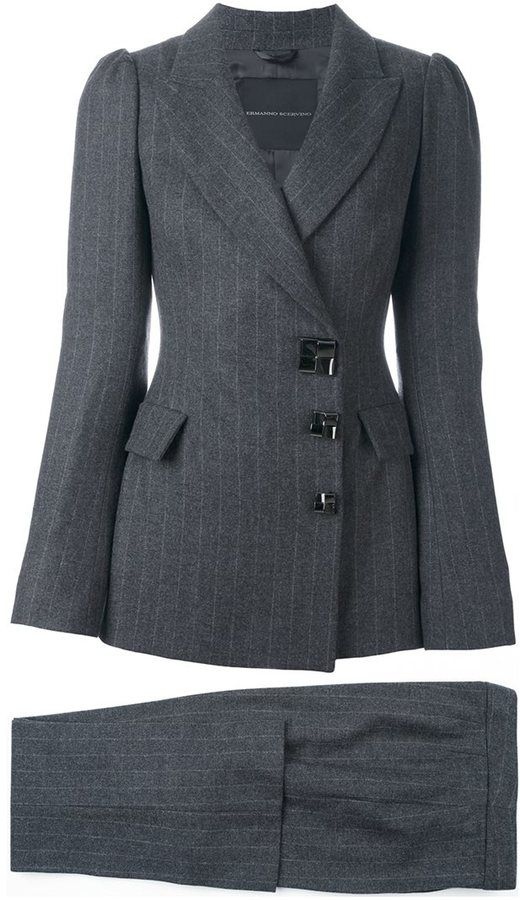 Ermanno Scervino fitted trouser suit