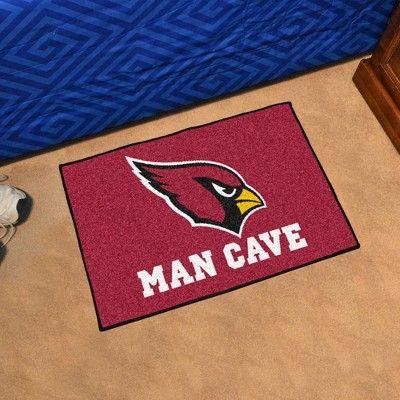 """NFL Arizona Cardinals Man Cave Starter Rug 19""""x30"""""""
