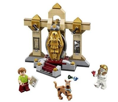 Lecgos Bela Scooby Doo Mummy blocks Museum  figures Building blocks Compatible With Lego Toy Kid xmas Gift