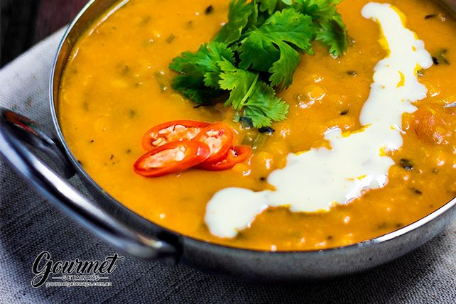 Stove top cooking is a party of the senses and the aroma of this Indian Dahl cooking away will bring the masses in from miles away. Simply DELICIOUS!
