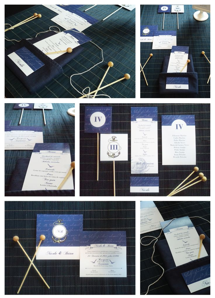 Nautic Wedding Stationery