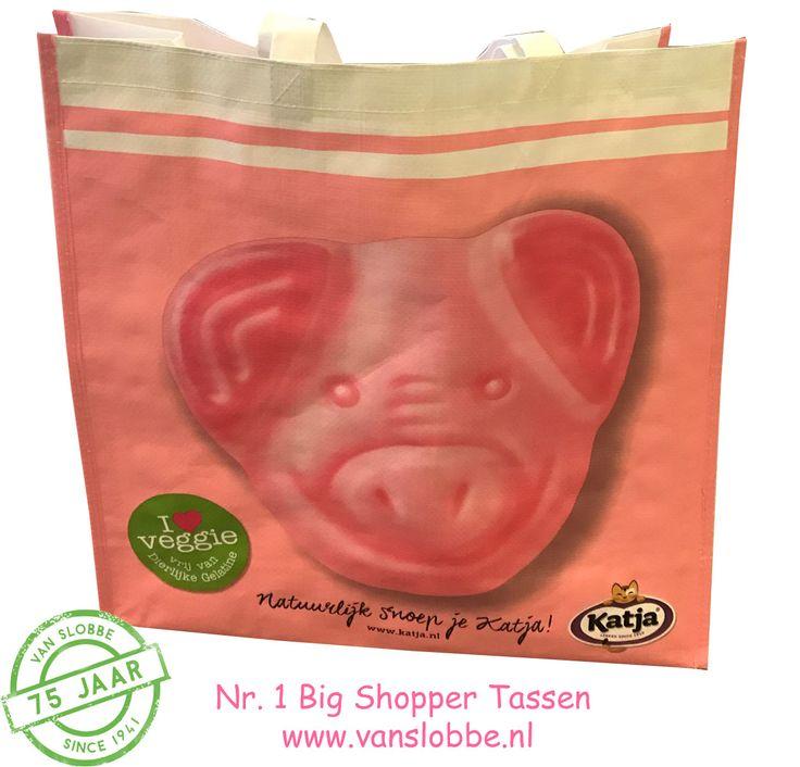 Big shopper Bag, MOQ 500 pcs. >>> https://www.vanslobbe.nl/nl/tassen/boodschappentassen