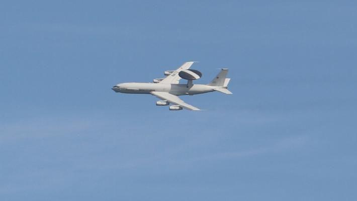 ΝΑΤΟικό AWACS στο Άκτιο