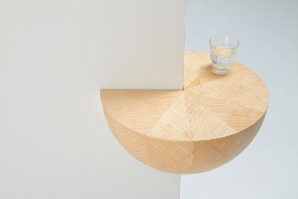 TrendsNow   Plywood Corner Shelf