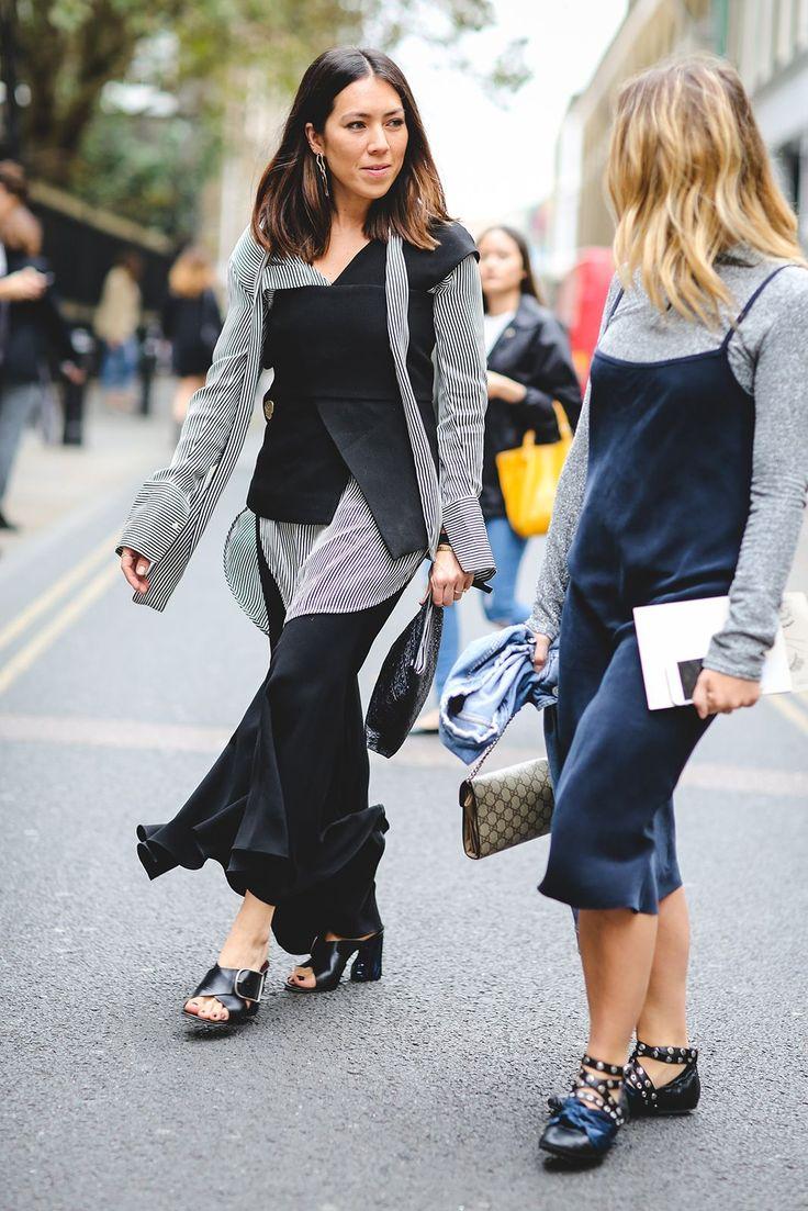 Street Style Photos - London Fashion Week SS17 | The UNDONE Picks