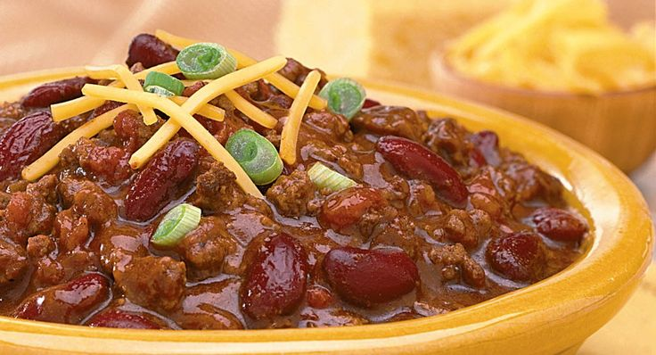 Weeknight Chili - good for a crowd (missionary dinner?)