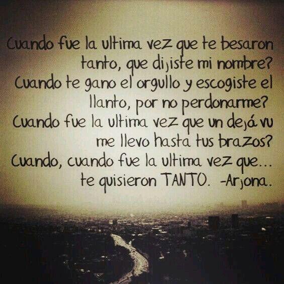 Cuando- Arjona.