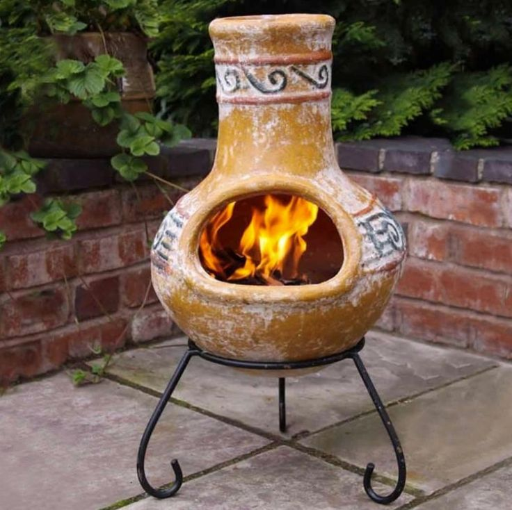 Outdoor Clay Fire Pit | Clay Fire Pits | Pinterest | Fire ...