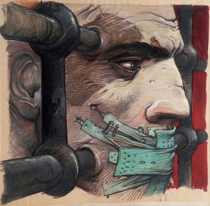 Enki Bilal Dystopian Art of the Future