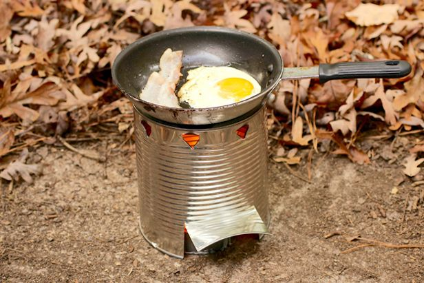 Prepare for the Zombie Apocalypse: Make Your Own Hobo Stove >>  I only hope that I have access to my pinterest account when the zombie apocalypse strikes... as well as some eggs and bacon. ;-)
