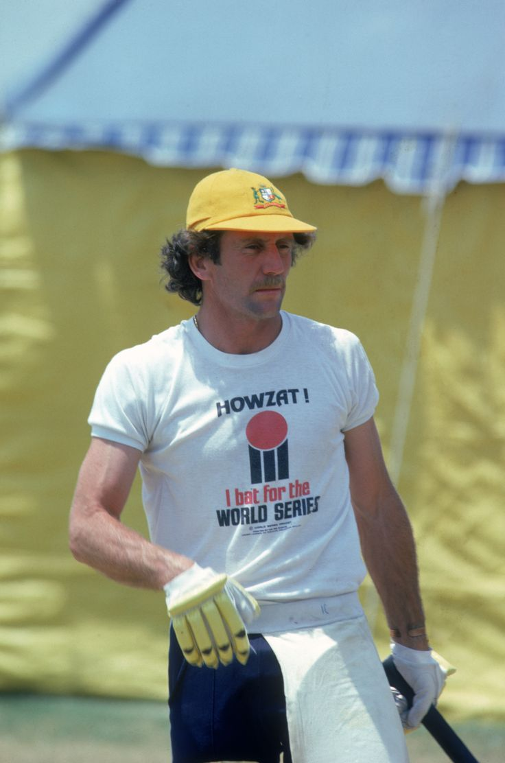Ian Chappell One of my all time favourtie Australian Cricket captains, he was a rebel.