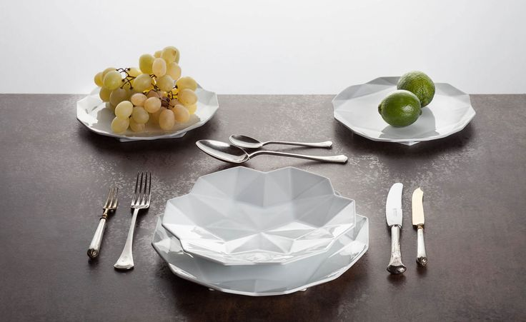 Lauriger creates luxury geometric tableware | Wallpaper*