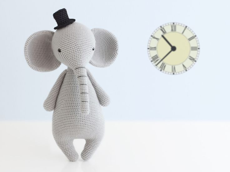 Amigurumi Elefante (patron del gorro gratis)