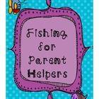 Parent volunteer letter FREEBIE- TPT