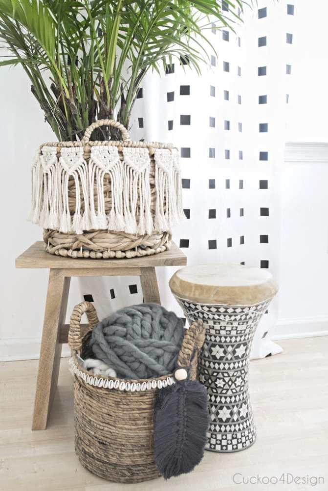 27 DIY Dollar Store Boho Craft Ideas