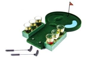 Golf Shot Glass Party Drinking Game Set After a long week of work, you just want to go golfing. Now go for the 19th hole, with this  mini golf drinking game. It makes a fun ice breaker for your parties.  http://awsomegadgetsandtoysforgirlsandboys.com/awesome-gadgets-for-guys/ Awesome Gadgets For Guys: Golf Shot Glass Party Drinking Game Set