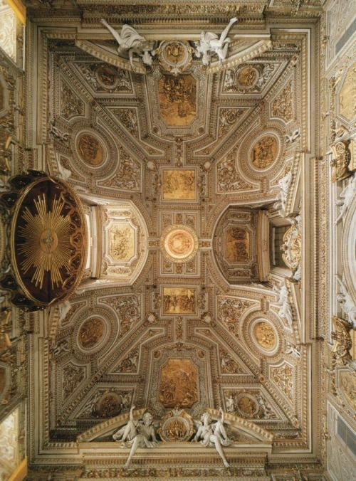 Ceiling of the Choir, St. Peter's Basilica, Vatican City