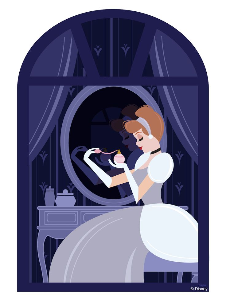 In this week's Disney Doodle, Cinderella gets ready for a magical evening at Disney Parks!