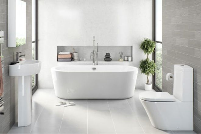 1000 ideas about plum bathroom on pinterest seashell for Plum bathroom ideas