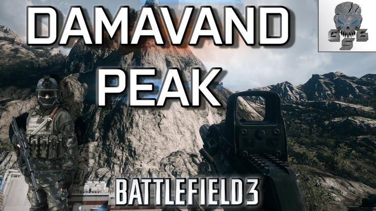 DAMAVAND PEAK - BATTLEFIELD 3 Multiplayer Gameplay PC.😀