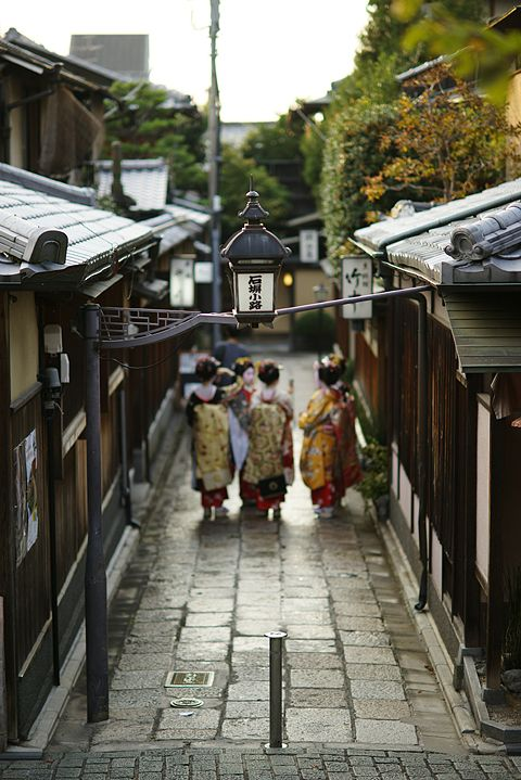 Japan - something about this is familiar - perhaps as a baby being taken to Taiko-san's house...