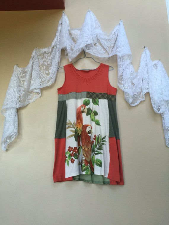 Upcycled Women's Clothing upcycled Dress  by SimplyCathrineAnn