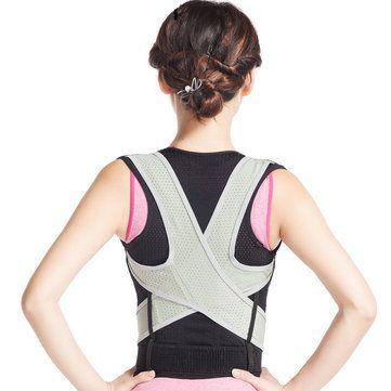 Back Posture Corrector Corset Brace Belt Waist Shoulder Support Health Care