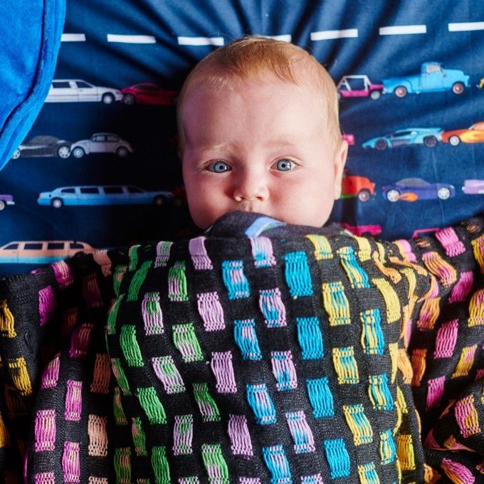 Mexican Rainbow 100 Cotton Blanket Baby Blankets Baby