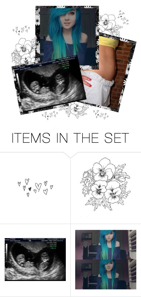 """""""Gender Reveal: Twins; Boy & Girl. -smiles widely- ¤Cass¤"""" by lukeimbatman ❤ liked on Polyvore featuring art, roleplay, anons, pregnant and maternity"""