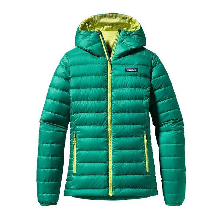 Patagonia Women\'s Down Sweater Hoody - Emerald EMRD