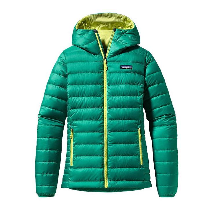 Patagonia Women\'s Down Sweater Hoody - Emerald EMRD