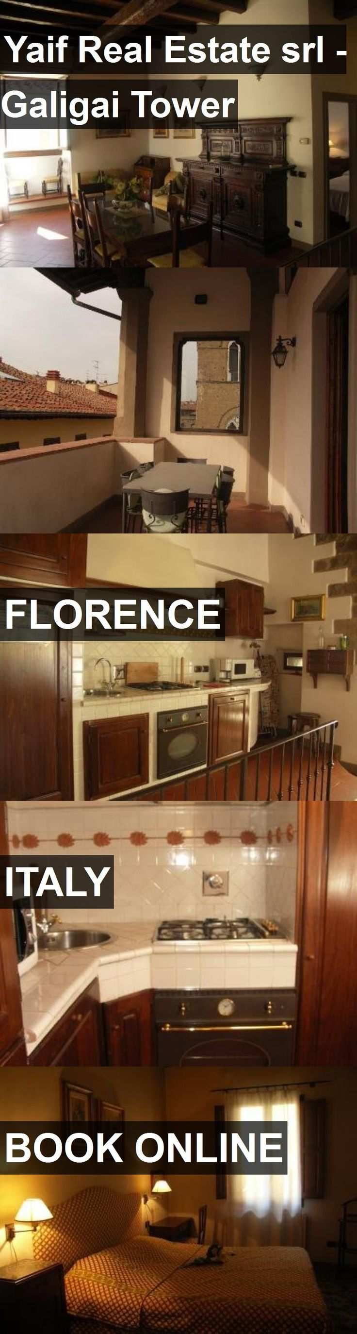 Hotel Yaif Real Estate srl - Galigai Tower in Florence, Italy. For more information, photos, reviews and best prices please follow the link. #Italy #Florence #YaifRealEstatesrl-GaligaiTower #hotel #travel #vacation