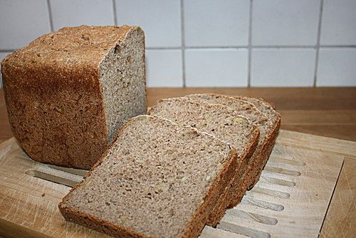 Buttermilch-Mehrkornbrot für den Brotbackautomat (Rezept mit Bild) | Chefkoch.de