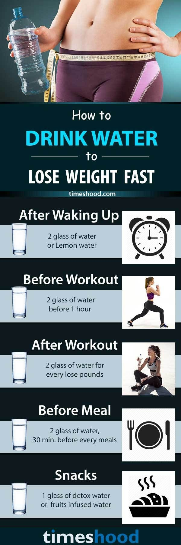 How much water you should be drinking to lose weight? Know how to reduce weight by drinking water and best time to drink water for weight loss. Follow these best timing to reduce your weight naturally. Drinking water for weight loss. Best weight loss tips.