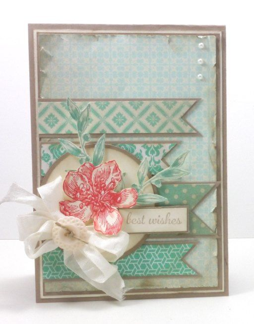 SU Stamps: Everything Eleanor, Express Yourself, Simply Sketched (leaves). SU Paper: Crumb Cake cs, Afternoon Picnic DSP, Eastern Elegance DSP. Ink: Crumb Cake, Coastal Cabana. Challenges-Pals Paper Arts, Stampin Royalty.