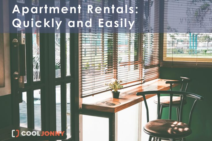 One of the most important things you have to do when you head out on your own is rent an apartment. Feel free to ask our best real estate agents for help! CoolJonny.com