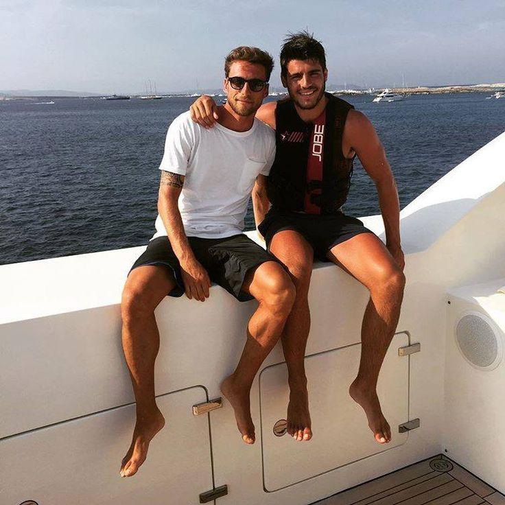 Claudio Marchisio & Álvaro Morata