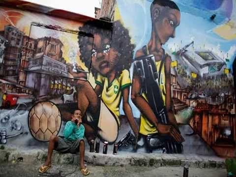 Graffitis En Brasil En Contra Del Mundial De Futbol