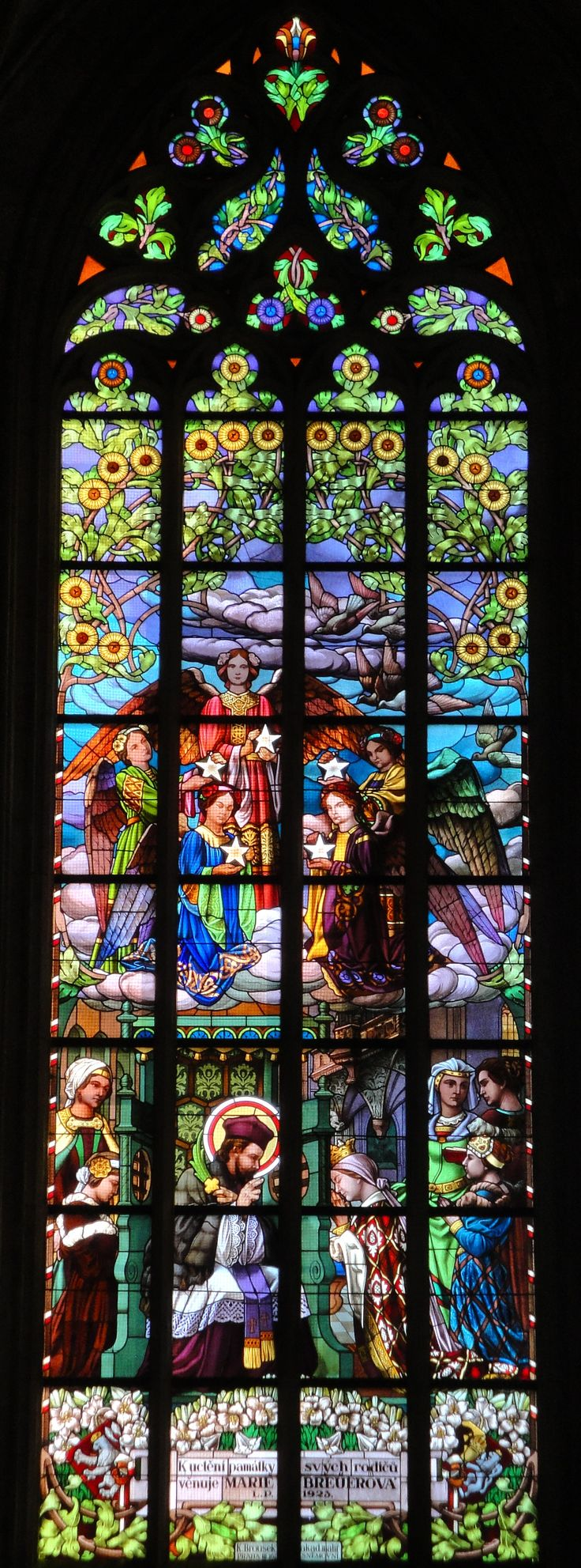 Another beauty from Saint Barbara's cathedral in Kutna Hora Czech Republic