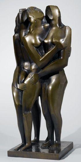 Ossip Zadkine - Le retour de la fille prodigue - 1953