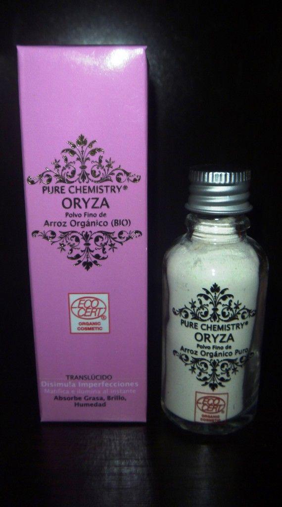 ORYZA Polvo Fino de Arroz Orgánico Puro.  Certificado Natural y Orgánico por Ecocert