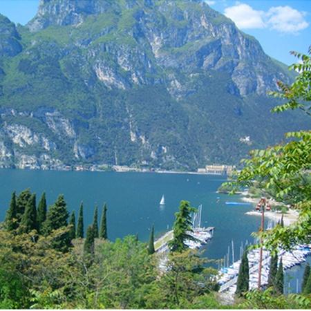 Lake Garda,Toscolano Maderno, Italy.