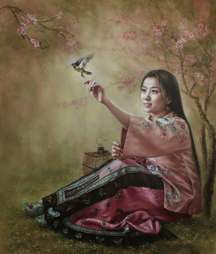 fasci-arte: Xu Xiaoxi -Xu Fang | Asian Arts & Crafts ... Fang Hua Xu Du