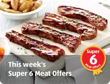 ALDI - Homepage- meat offers. essential for a #GreatBritishBBQ