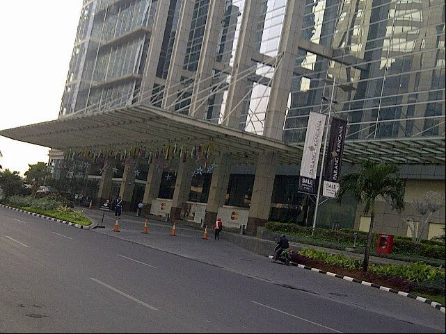 Sudirman Central Business District (SCBD) in Djakarta, Jakarta