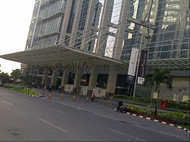 Sudirman Central Business District (SCBD) in Djakarta, Jakarta