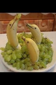 Risultati immagini per decorazioni con frutta e verdura