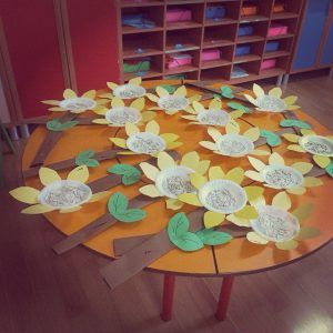 paper-plate-sunflower-craft